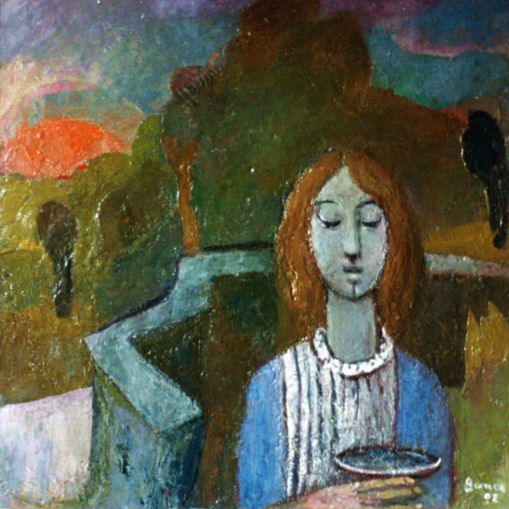 Karl Bauer 093 Maria von Magdala am Auferstehungsmorgen