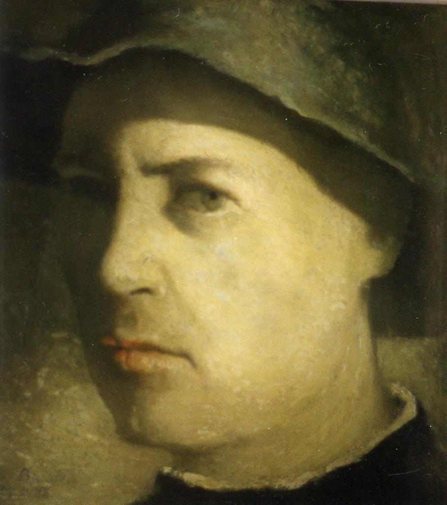 Karl Bauer 820 Selbstporträt