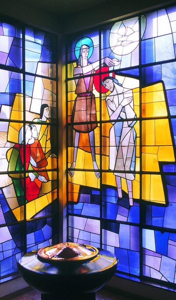 Karl Bauer 089 Taufe Christi St Peter