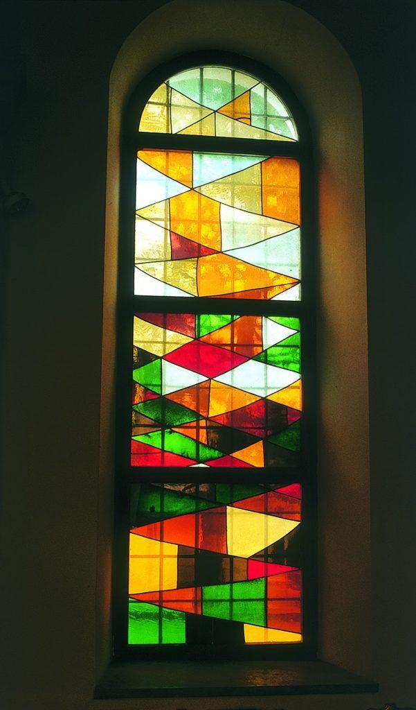 Karl Bauer 547 Abstrakte Glasfenster St Ruprecht