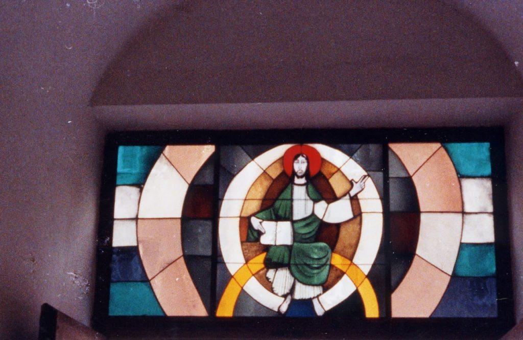 Karl Bauer 594 Thronender Christus