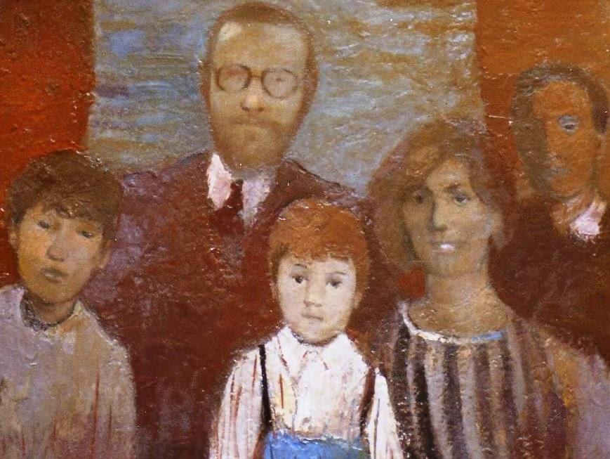 Karl Bauer 157 Familienbild Jantsch